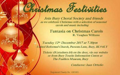 Christmas Festivities – A Concert of Seasonal Music
