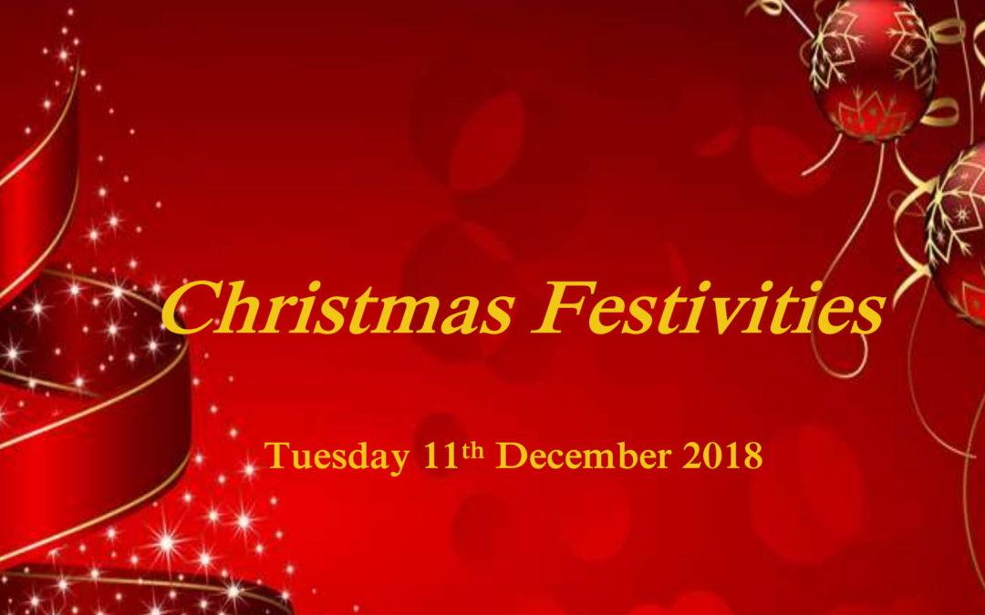 Christmas Festivities 2018